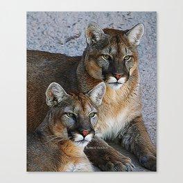 THE BOYS 2 Canvas Print