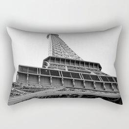 Upon the Eiffel Tower Rectangular Pillow