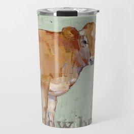 jersey cow Travel Mug