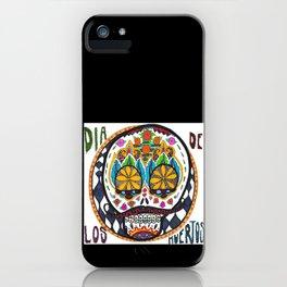 Dia de los Muertos with Braces iPhone Case