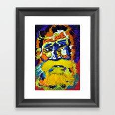 Metal Man Framed Art Print