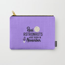 Astronauts are born in November T-Shirt D3jwk Carry-All Pouch