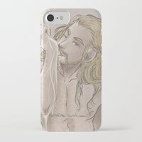 fili iPhone & iPod Cases featuring Milky Fili by ScottyTheCat