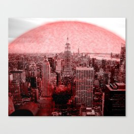 New New York Quarantine Canvas Print