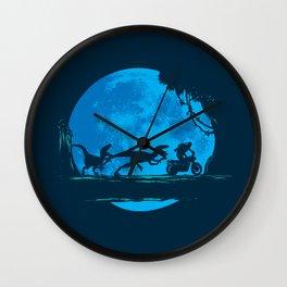 Moonlit Ride Wall Clock