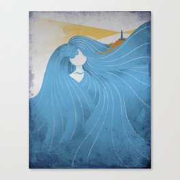 Waterways Canvas Print