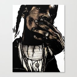 TRIBUTE TO SNOOP DOGG Canvas Print