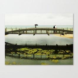 El puente Canvas Print