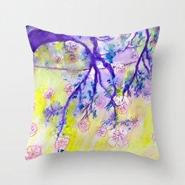 Japanese dream Throw Pillow