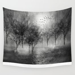 Black and White - Paisaje y color II Wall Tapestry