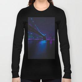 Future Skyline Cyberpunk City Long Sleeve T-shirt