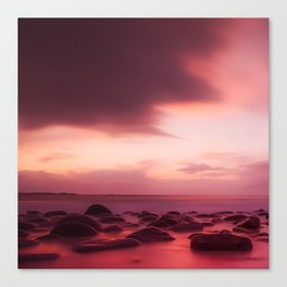 Rocky Sea Canvas Print