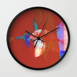Tournament (knight terracotta) Wall Clock