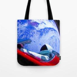 Tesla's Starman Tote Bag