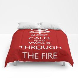 Walk through the fire Comforters