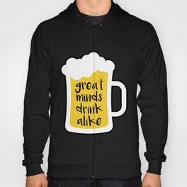 Beer - Great Minds Hoody