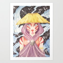 Katara Avatar The Painted Lady Art Print