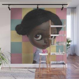Erregiro Blythe Custom Doll Afro Wall Mural