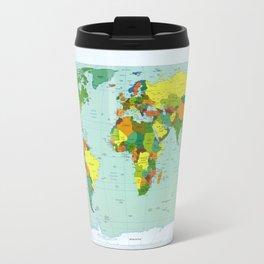Political Map of the World (1999) Travel Mug