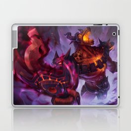 Infernal Nasus League Of Legends Laptop & iPad Skin