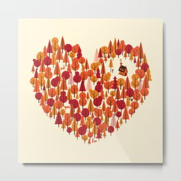 Wild at Heart Metal Print