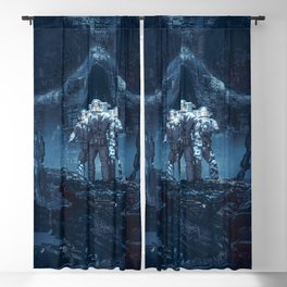 Planet of Doom Blackout Curtain