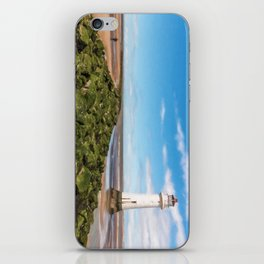 Black Rock Lighthouse iPhone Skin