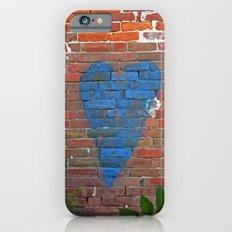 Blue Heart Slim Case iPhone 6s