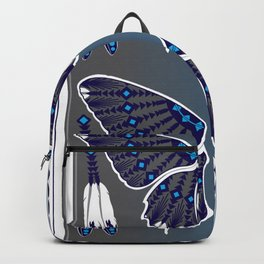 Butterfly Nation Blue Backpack