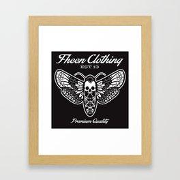 The fheen Moth  Framed Art Print