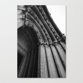 Cathedral Church of St. John the Divine Canvas Print