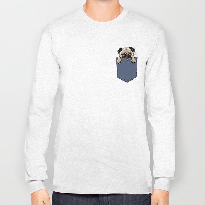 Pugturday Long Sleeve T-shirt