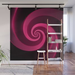 silk red Wall Mural