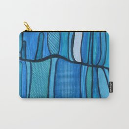 2 Blue Carry-All Pouch