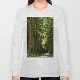 On A Road To The Rainforest Long Sleeve T-shirt