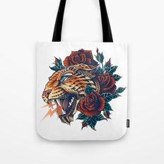 Ornate Leopard (Color Version) Tote Bag
