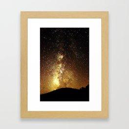 Sparkling Sky Framed Art Print