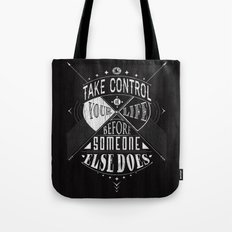 Take Control Tote Bag