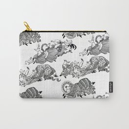Kimono foxes Carry-All Pouch