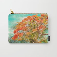 Summery Trees in Hawaii Carry-All Pouch