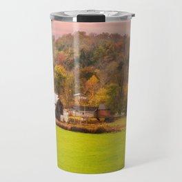 Rolling Hills Kentucky Farm Travel Mug
