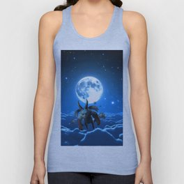 above the cloud Unisex Tank Top