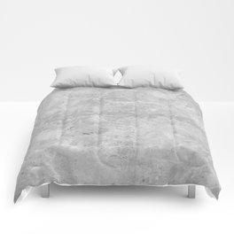 Gray Concrete Comforters