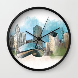 Chicagoland Wall Clock