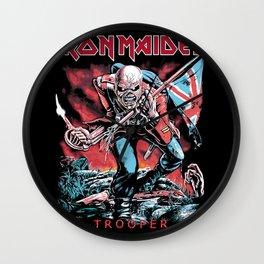 Iron Maiden - Trooper Wall Clock
