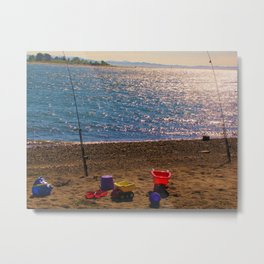 Family Fishing Trip Metal Print