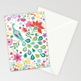 Peacock Sanctuary Stationery Cards