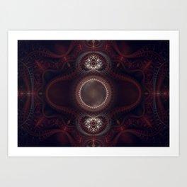 NEMESIS - Grand Julian Fractal Print Art Print