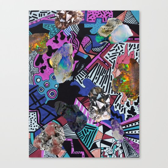 RADICAL ▲  SYNTHIA  Canvas Print