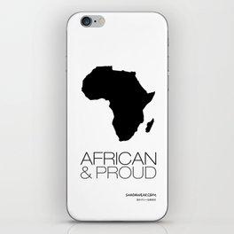 African & Proud iPhone Skin